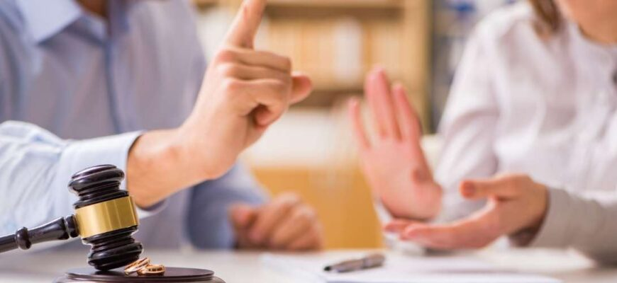 Procedure for termination of marriage