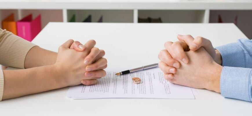 Divorce through the registry office without the presence of a spouse