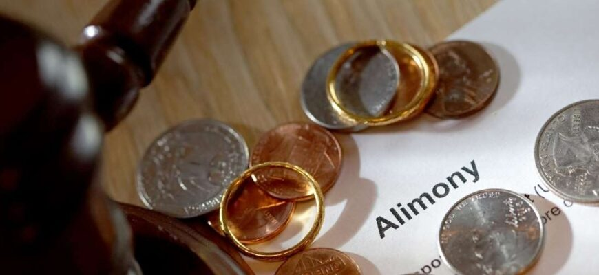 Alimony as a share of earnings