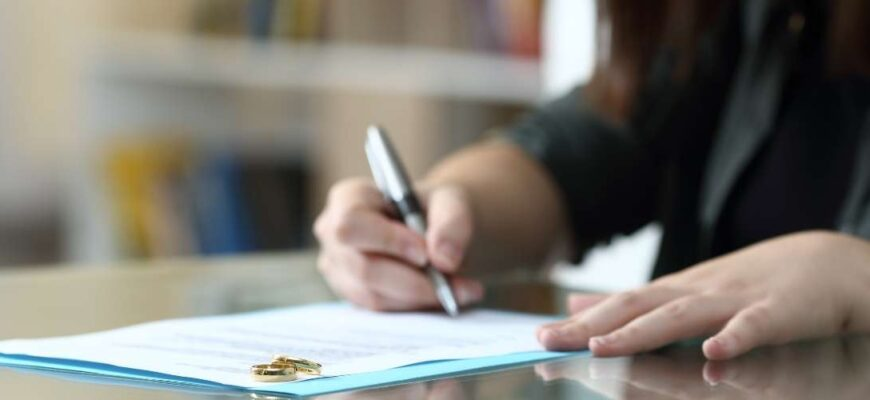 What documents are needed for a divorce?