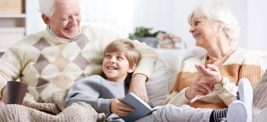 The rights of a woman and grandfather, great-grandmother and great-grandfather to raise grandchildren, great-grandchildren