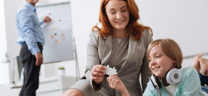 The order of communication with the child through the guardianship authority